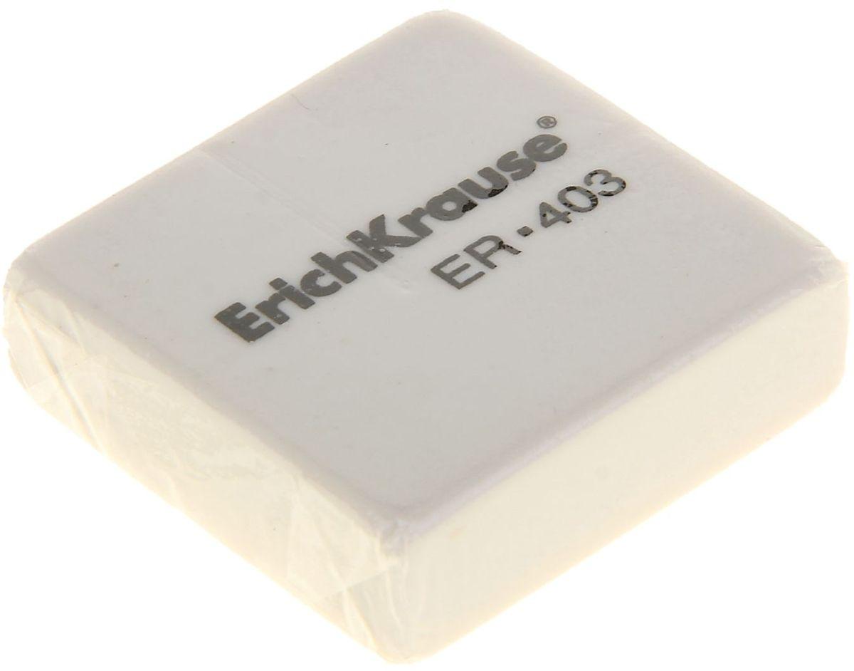 Erich Krause Ластик ER-403FS-36054Ластик Erich Krause ER-403 станет незаменимым аксессуаром на рабочем столе не только школьника или студента, но и офисного работника.Ластик выполнен из синтетики.При стирании стружка от ластика скатывается в единый комок, а не рассыпается по всей поверхности бумаги.