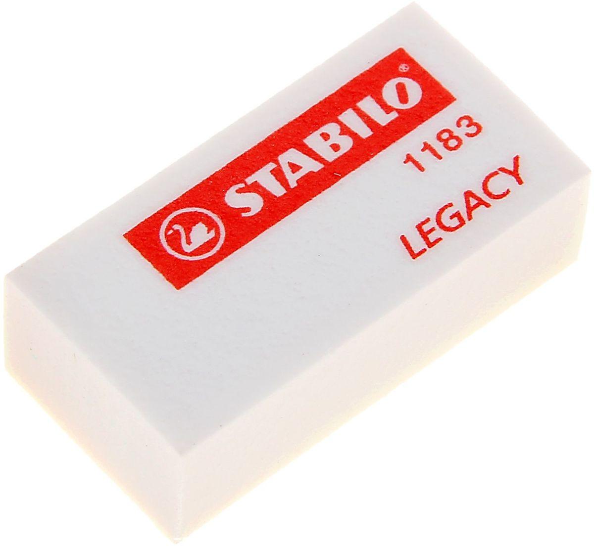 Stabilo Ластик1060304Ластик — канцелярская принадлежность, предназначенная для удаления карандашных (иногда чернильных) надписей с бумаги и других поверхностей.Ластик Stabilo выполнен из синтетики.Он обладает важными качествами, которые помогают ему убирать следы пишущего предмета с бумаги. Ластик отличается абразивными (шлифующими) свойствами, которые необходимы для удаления остаточных следов карандаша с бумажной поверхности.Такое канцелярское изделие станет отличным помощником для детей и взрослых в любых ситуациях: в школе, на работе или дома!