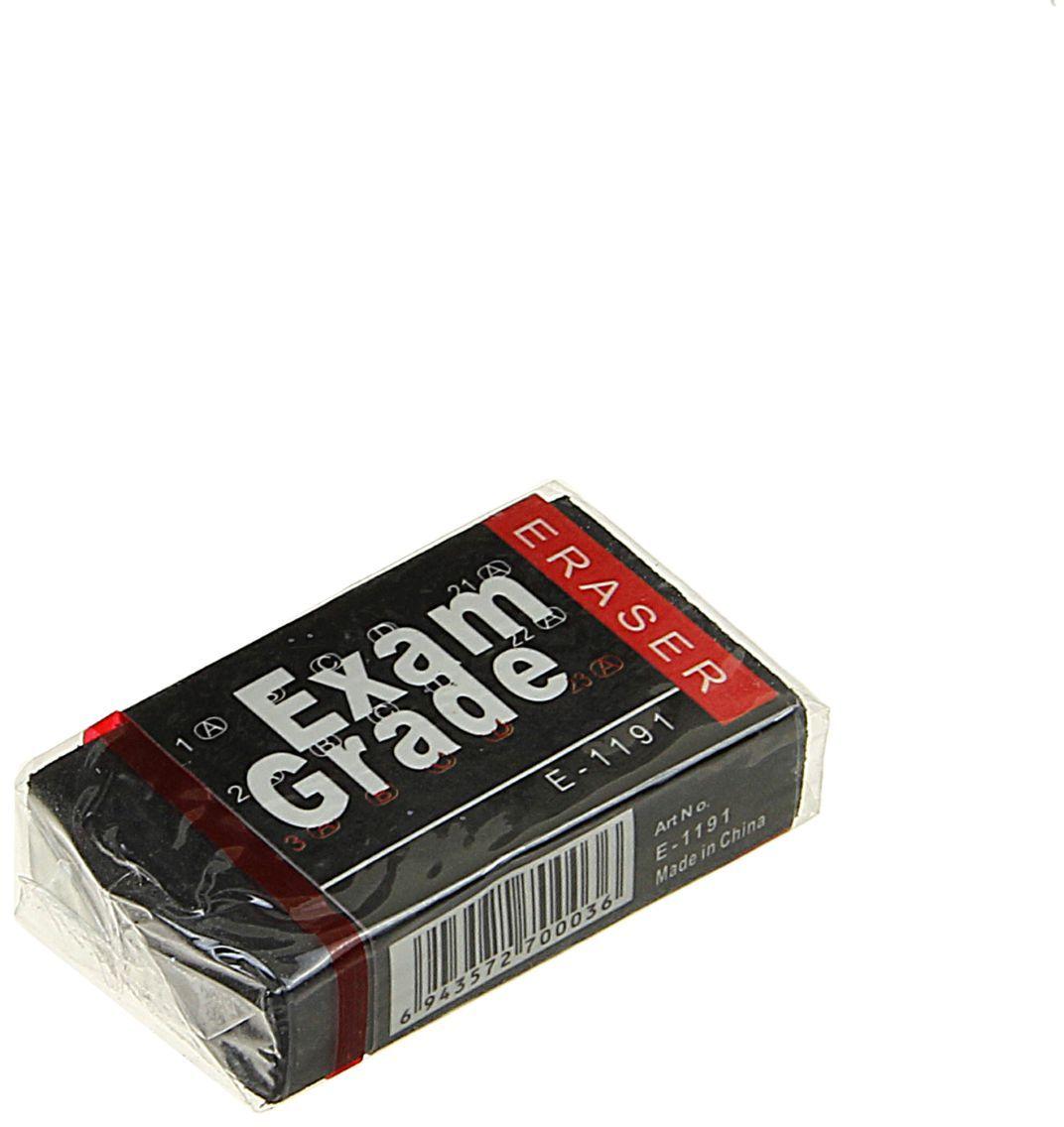 Exam Grade Ластик цвет черный72523WDЛастик Exam Grade станет незаменимым аксессуаром на рабочем столе не только школьника или студента, но и офисного работника. Прямоугольной формы ластик выполнен из синтетики. Подходит для всех видов бумаги.Не оставляет мелкой пыли и крошек.