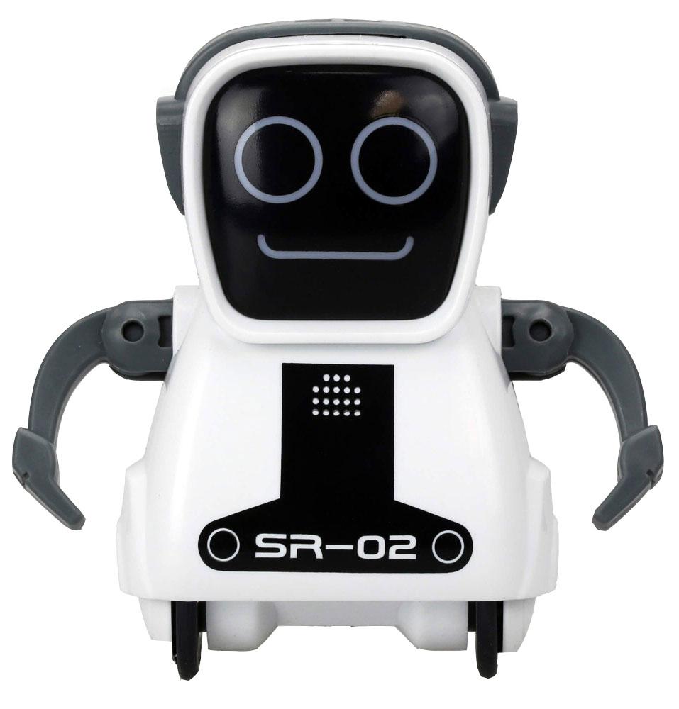 Silverlit Интерактивный робот Покибот SR-02 цвет белый роботы silverlit приручи динозавра белый