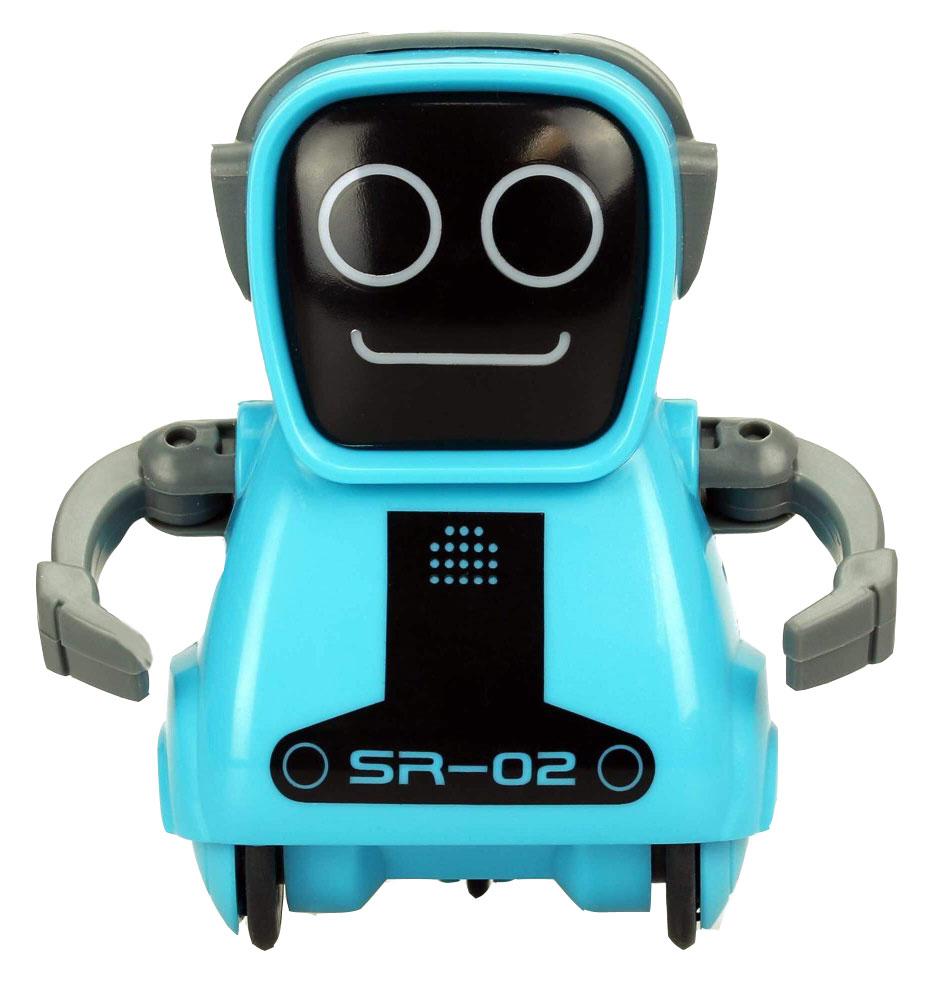 Silverlit Интерактивный робот Покибот SR-02 цвет синий цена 2016