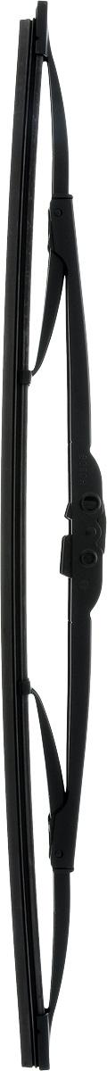 Щетка стеклоочистителя Bosch 450U, каркасная, 45 см96515412Щетка Bosch 450U, выполненная по современной технологии из высококачественных материалов, оптимально подходит для замены оригинальных щеток, установленных на конвейере. Обеспечивает идеальную очистку стекла в любую погоду.TWIN - серия классических каркасных щеток от компании Bosch. Эти щетки имеют полностью металличеcкий каркас с двойной защитой от коррозии и сверхточный профиль резинового элемента с двумя чистящими кромками.Тип крепления: 1.