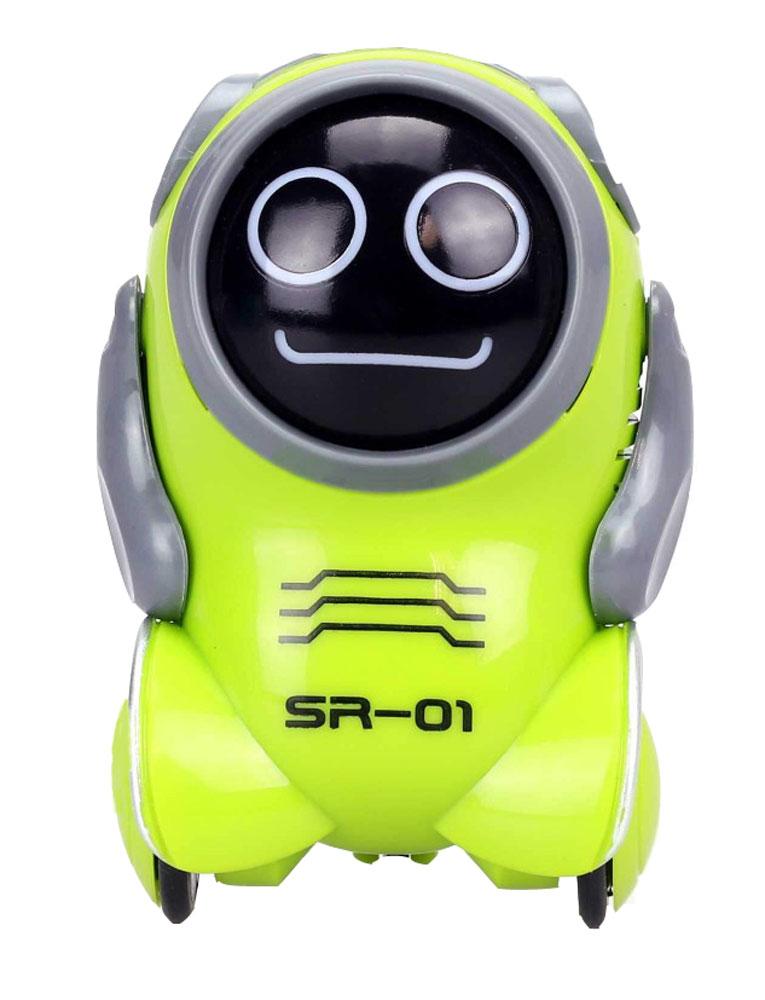 Silverlit Интерактивный робот Покибот SR-01 цвет салатовый цена 2016