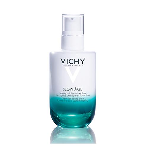 VICHY Slow Age Укрепляющий уход для коррекции признаков старения на разных стадиях формирования, 50 мл vichy тональный флюид teint ideal тон 25 30 мл