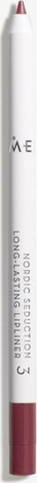 Lumene Nordic Seduction Устойчивый карандаш для губ №036223EКарандаш с мягкой, кремовой текстурой обеспечит легкое нанесение и стойкий результат в течение всего дня! Карандаш надежно зафиксирует губную помаду и добавит визуального объема губам. Оттенок