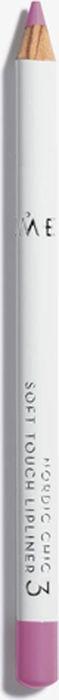 Lumene Nordic Chic Мягкий карандаш для губ №03BrozsHA001Мягкий карандаш для губ отлично подойдет для создания четкого и насыщенного контура или в виде праймера. Карандаш надежно фиксирует губную помаду в течение всего дня.