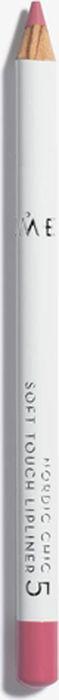 Lumene Nordic Chic Мягкий карандаш для губ №05NL018-84743Мягкий карандаш для губ отлично подойдет для создания четкого и насыщенного контура или в виде праймера. Карандаш надежно фиксирует губную помаду в течение всего дня.