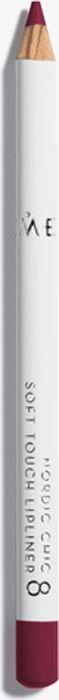 Lumene Nordic Chic Мягкий карандаш для губ №08Satin Hair 7 BR730MNМягкий карандаш для губ отлично подойдет для создания четкого и насыщенного контура или в виде праймера. Карандаш надежно фиксирует губную помаду в течение всего дня.