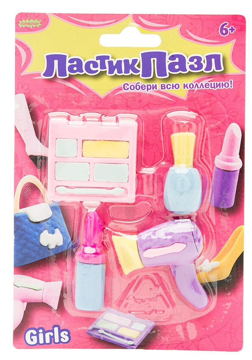 Бумбарам Набор ластиков-пазлов Салон красоты 4 шт барную стойку или ресепшн в салон красоты