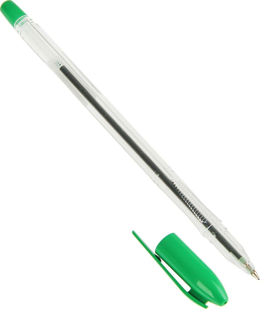 Стамм Ручка шариковая VeGa цвет чернил зеленый