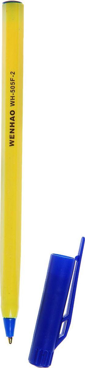Ручка шариковая 505F-2 синяя72523WDРучка шариковая 505F-2 стержень синий, желтый корпус с синим колпчком — классическая шариковая ручка. Если вы ценитель качества, удобства и не любите отвлекаться на разные мелочи, то этот товар для вас. Шариковый пишущий узел и паста на масляной основе сделали такой вид ручки самым распространенным и популярным во всем мире. Шариковые ручки самые экономичные, их надолго хватает. Писать этими ручками легко и удобно, густые чернила не растекаются на бумаге и не вытекают при переноске. Выгодно заказывайте шариковые ручки оптом на нашем сайте — выбирайте практичность и надежность.