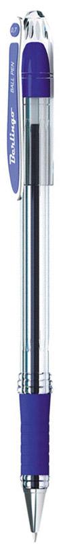 Шариковая ручка Berlingo I-15 с высококачественными чернилами обеспечивает ровное письмо.Шариковая ручка Berlingo c колпачком в цвет чернил и пластиковым клипом. Мягкий резиновый грип в зоне захвата препятствует скольжению пальцев при письме. Прозрачный корпус позволяет контролировать расход чернил. Цвет чернил - синий. Качественные чернила на масляной основе обеспечивают мягкое и комфортное письмо. Диаметр пишущего узла - 0,7 мм.