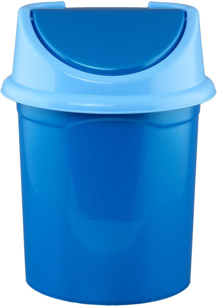 Ведро для мусора Violet , с крышкой, 8 л787502Удобное ведро для мусора Violet, выполненное из высококачественного износостойкого пластика, оснащено крышкой. Ведро подходит для использования в ванной комнате или на кухне. Стильный дизайн и яркая расцветка прекрасно подойдет для любого интерьера ванной комнаты или кухни.