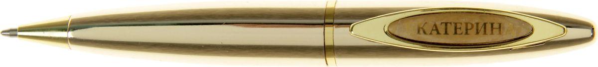 Ручка шариковая Екатерина синяя 4176590703415Ручка в коробке Екатерина - это не только качественная и удобная письменная принадлежность, но и яркий оригинальный аксессуар для прекрасных и обворожительных дам. Такой подарок оценит каждая представительница прекрасного пола, ведь он будет предназначаться именно ей! Корпус ручки, выполненный в золотом цвете, выгодно подчеркнет любой образ. Благодаря поворотному механизму вы ни за что не оставите на одежде чернильное пятно и сможете всегда носить ее с собой!