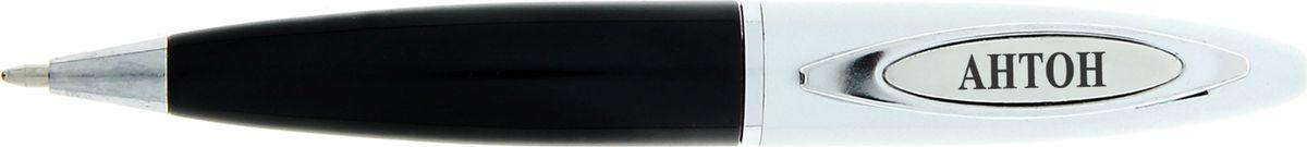 Ручка в коробке Антон - это не только качественная и удобная письменная принадлежность, но и яркий оригинальный аксессуар для стильных мужчин. С такой ручкой каждый может почувствовать себя уникальным, ведь она не просто красивая и функциональная, она – предназначается именно вам! Корпус ручки, выполненный в черно-золотом цвете, выгодно подчеркнет любой образ. Благодаря поворотному механизму вы ни за что не оставите на одежде чернильное пятно и сможете всегда носить ее с собой!