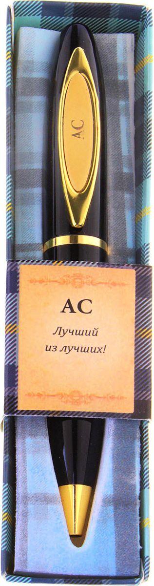 Ручка шариковая От всего сердца Ас синяя72523WDПри современном темпе жизни без ручки никуда, и одним из важных критериев при ее выборе является внешний вид и механизм, ведь это не только письменная принадлежность, но и стильный аксессуар. А также ручка – это отличный подарок. Наша уникальная разработка Ручка сувенирная АС объединила в себе классическую форму и оригинальный дизайн. Она выполнена в лаконичном черно-золотом цвете, с изысканной гравировкой на креплении. Благодаря поворотному механизму вы никогда не поставите чернильное пятно на одежде и будете на высоте.