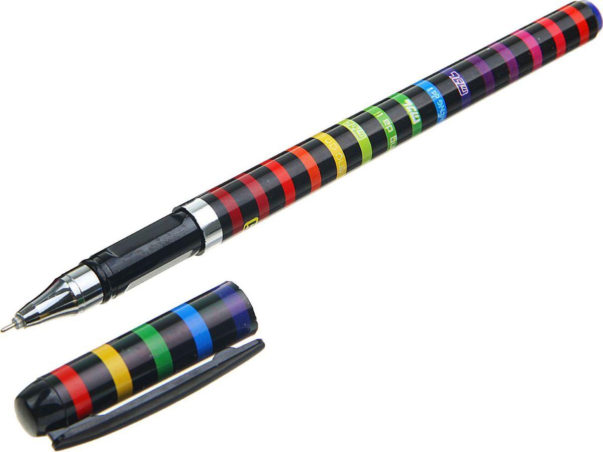 Ручка гелевая Mol Радуга с рифленым держателем поможет организовать ваше рабочее пространство и время. Изделия данной категории необходимы любому человеку независимо от рода его деятельности.