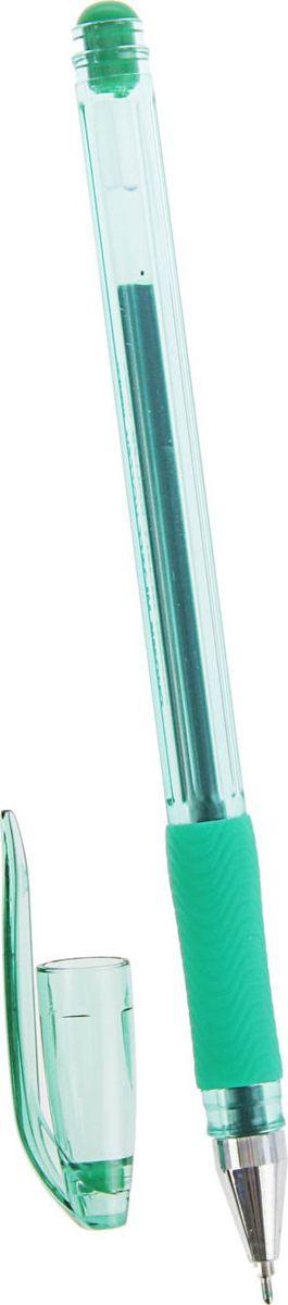 Crown Ручка гелевая HJR-500RN зеленая2269012Классическая гелевая ручка Crown HJR-500RN - легкий прозрачный корпус с рельефным упором, изящная линия письма придает мягкость ровному скольжению по бумаге. В гелевой ручке Crown содержатся специальные чернила, в состав которых входит вода и масляная основа. Водостойкие чернила хорошо пишут при низких температурах и долго не выцветают.