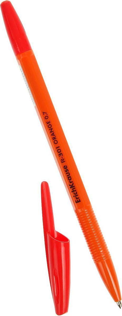 Ручка шариковая Erich Krause R-301 Orange Stick, поможет организовать ваше рабочее пространство и время. Изделия данной категории необходимы любому человеку независимо от рода его деятельности.