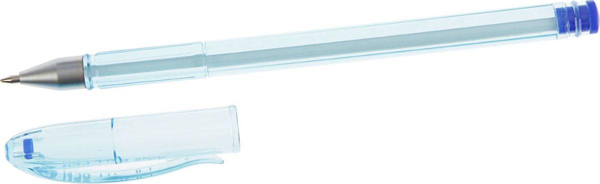 Deli Ручка шариковая синяя 2312756592342Ручка шариковая Deli - имеет прозрачный пластиковый корпус, позволяет контролировать уровень расхода чернил. Рифленая поверхность передней части корпуса предотвращает скольжение пальцев при письме. Цвет колпачка соответствует цвету чернил.