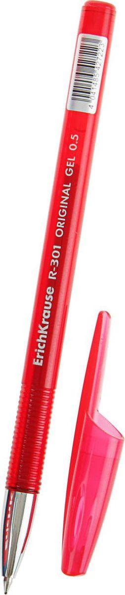 Erich Krause Ручка гелевая R-301 Original Gel EK красная2010440Ручка гелевая Erich Krause R-301 Original Gel EK - удобная гелевая ручка, поможет организовать ваше рабочее пространство и время. Изделия данной категории необходимы любому человеку независимо от рода его деятельности.