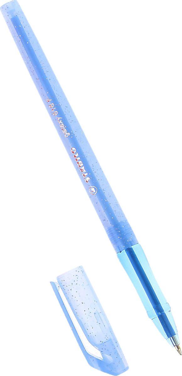 Stabilo Ручка шариковая Galaxy 818 синяя 10603430102016Шариковая ручка Stabilo Galaxy с заменяемым стержнем. Специальная технология фиксирования пишущего шарика защищает от утечки чернил, обеспечивает тонкую аккуратную линию и мягкое скольжение. Технические данные: толщина линии XF — 0,2 мм F — 0,3 мм.