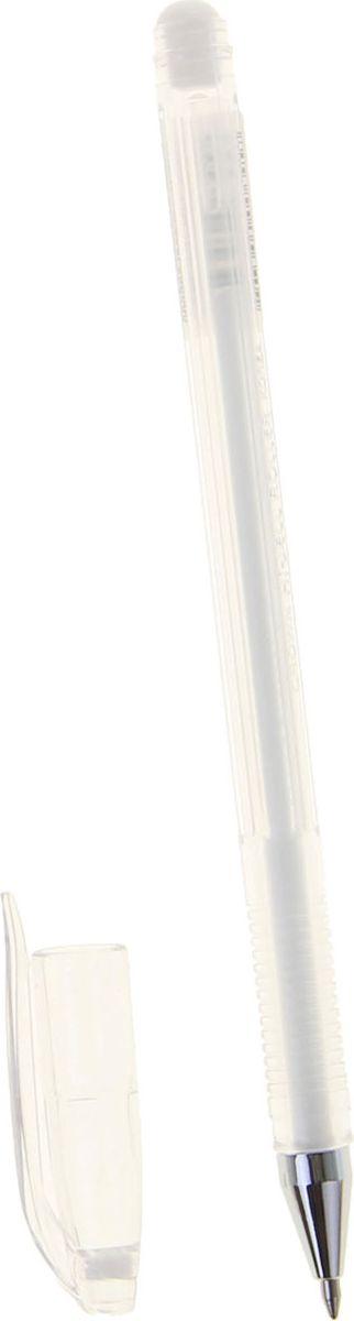 Crown Ручка гелевая HJR-500P белая1088393В гелевой ручке Crown содержатся специальные чернила, в состав которых входит вода и масляная основа. Водостойкие чернила хорошо пишут даже при низких температурах и долго не выцветают.