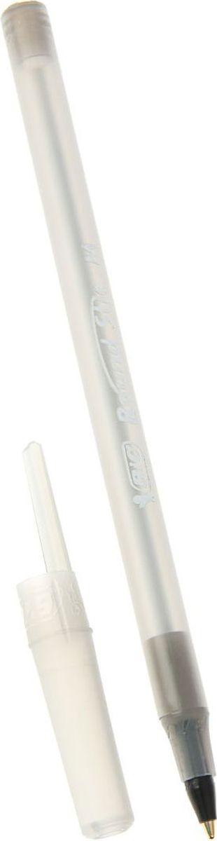 BIC Ручка шариковая Round Stic Classic черная72523WDРучка шариковая BIC Round Stic Classic имеет прозрачный пластиковый корпус, позволяет контролировать уровень расхода чернил. Цвет колпачка соответствует цвету чернил.