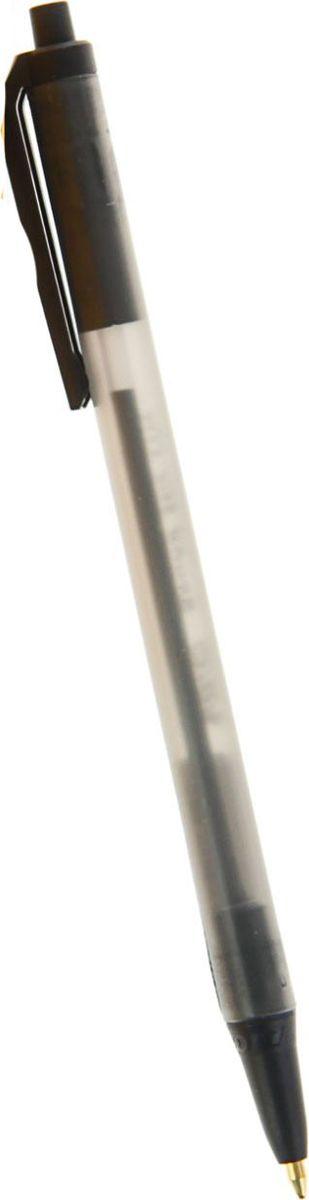 BIC Ручка шариковая Round Stic Clic черная1354832Ручка шариковая BIC Round Stic Clic имеет прозрачный пластиковый корпус, позволяет контролировать уровень расхода чернил. Цвет колпачка соответствует цвету чернил.
