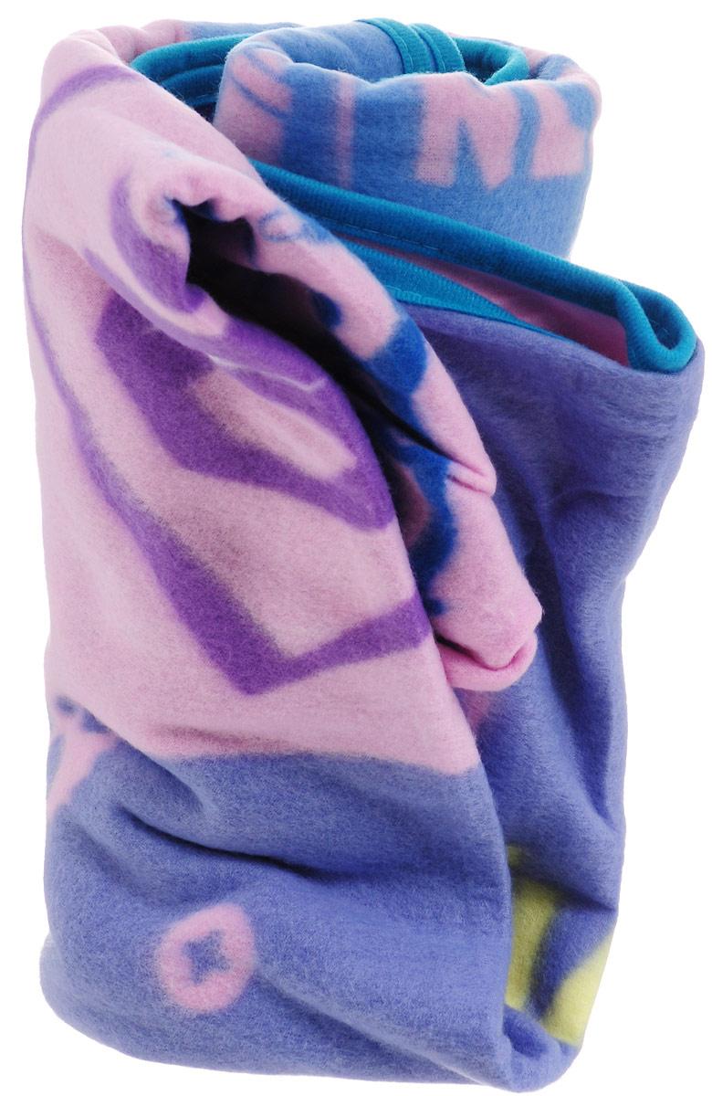 Фиксики Покрывало детское Фиксики Граффити цвет сиреневый голубой 130 х 160 см -  Детский текстиль
