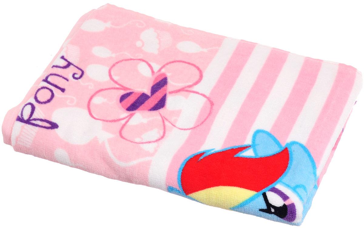 Bravo Полотенце детское Пони цвет розовый 60 x 120 см -  Полотенца