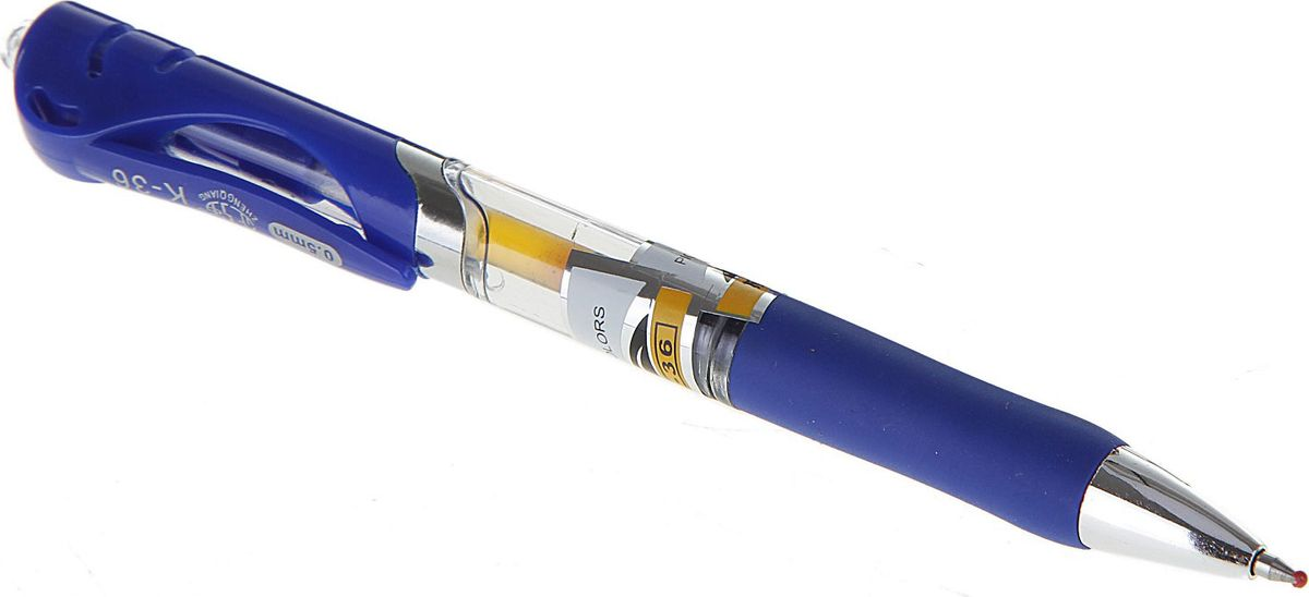 Xin Sheng Ручка гелевая синяя72523WDРучка гелевая автоматическая 0,5 мм синяя, прозрачный корпус с резиновым держателем ASQIРучка — отличный выбор для любителей мягкого и удобного письма. Гелевая консистенция чернил равномерно распределяется по бумаге и быстро сохнет. Гладкое скольжение пишущего узла, удобный корпус и доказанная надежность делает такие ручки одними из самых популярных письменных принадлежностей среди детей и взрослых.