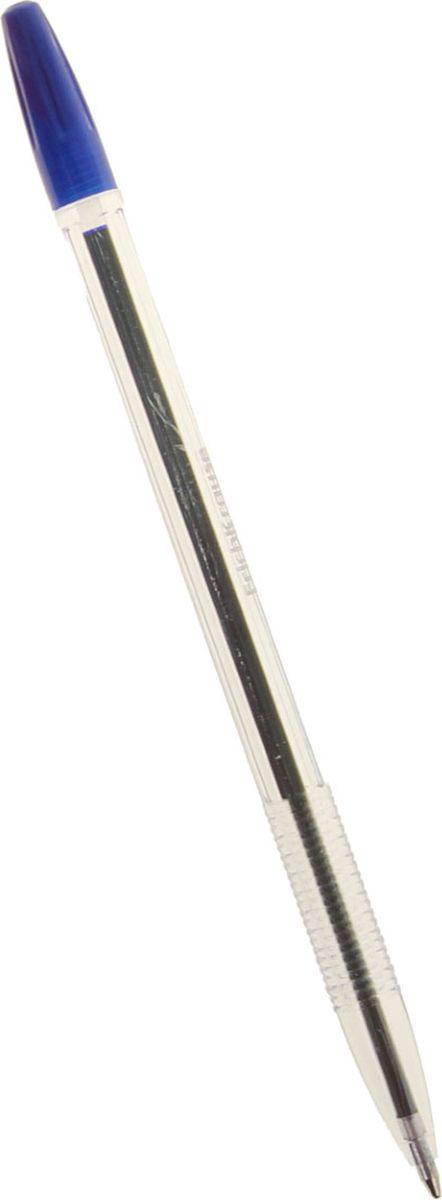 Erich Krause Ручка шариковая R-301 EK синяя789560Удобная шариковая ручка эконом класса с прозрачным корпусом для контроля уровня чернил. Цвет вентилируемого колпачка и клипа соответствует цвету чернил. Пишущий узел 1. 0 мм обеспечивает четкое письмо. Сменный стержень. Рекомендуется использовать стержень Erich Krause.
