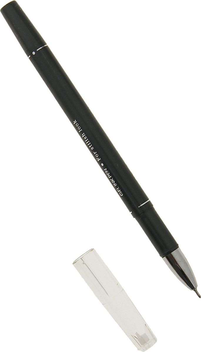 Erich Krause Ручка гелевая Belle черная2010440Элегантная гелевая ручка станет идеальной спутницей для настоящей Леди. Пишущий узел 0. 5 мм обеспечивает чистое и четкое письмо. Сменный стержень. Рекомендуется использовать стержень Erich Krause G-BASE.