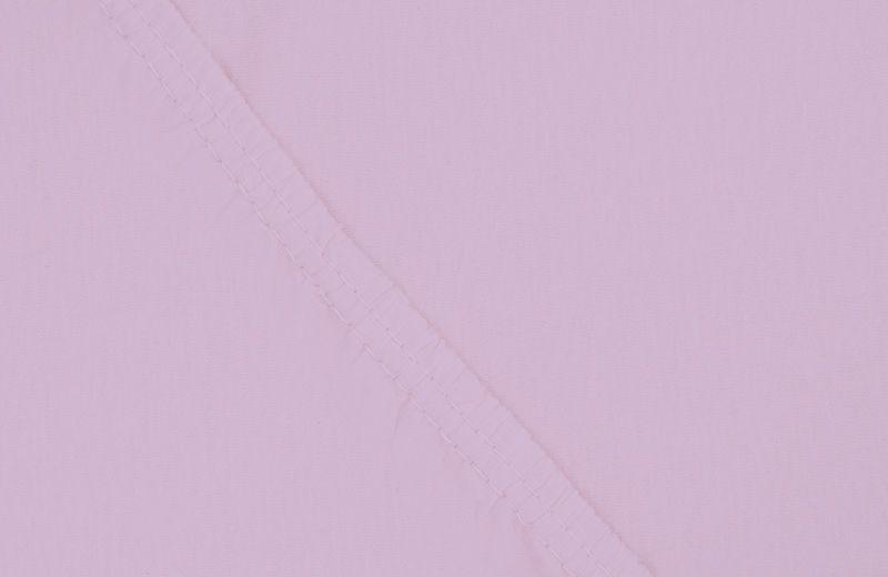 Простыня на резинке Ecotex Поплин, цвет: сиреневый, 90 х 200 смES-412Простыня на резинке по всему периметру – это очень удобно! Она всегда ровно, без единой морщинки, застилает матрас. Легко заправляется и фиксируется с помощью «юбки» с резинкой по всему периметру. Нежное прикосновение к телу бархатного на ощупь хлопка, мягкая фактура ткани – вот основное преимущество трикотажных простыней на резинке. Они практичны в уходе, не требуют глажения после стирки, мягкие, экологичные, защищают матрас от загрязнений.