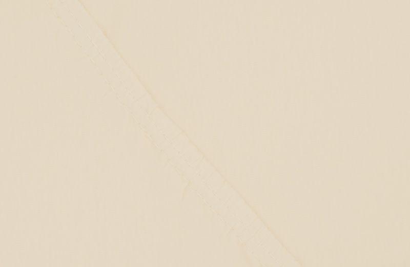 Простыня на резинке Ecotex Поплин, цвет: бежевый, 180 х 200 смS03301004Простыня на резинке по всему периметру – это очень удобно! Она всегда ровно, без единой морщинки, застилает матрас. Легко заправляется и фиксируется с помощью «юбки» с резинкой по всему периметру. Нежное прикосновение к телу бархатного на ощупь хлопка, мягкая фактура ткани – вот основное преимущество трикотажных простыней на резинке. Они практичны в уходе, не требуют глажения после стирки, мягкие, экологичные, защищают матрас от загрязнений.