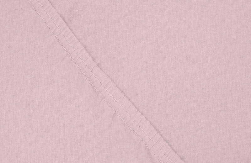Простыня на резинке Ecotex, цвет: розовый, 140 х 200 см531-103Здоровый сон – залог хорошего самочувствия на протяжении всего дня. Простыня на резинке по всему периметру – это очень удобно! Она всегда ровно, без единой морщинки, застилает матрас. Легко заправляется и фиксируется с помощью «юбки» с резинкой по всему периметру. Нежное прикосновение к телу бархатного на ощупь хлопка, мягкая фактура ткани – вот основное преимущество трикотажных простыней на резинке. Они практичны в уходе, не требуют глажения после стирки, мягкие, экологичные, защищают матрас от загрязнений.