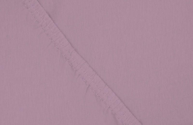Простыня на резинке Ecotex, цвет: фиолетовый, 160 х 200 смES-412Здоровый сон – залог хорошего самочувствия на протяжении всего дня. Простыня на резинке по всему периметру – это очень удобно! Она всегда ровно, без единой морщинки, застилает матрас. Легко заправляется и фиксируется с помощью «юбки» с резинкой по всему периметру. Нежное прикосновение к телу бархатного на ощупь хлопка, мягкая фактура ткани – вот основное преимущество трикотажных простыней на резинке. Они практичны в уходе, не требуют глажения после стирки, мягкие, экологичные, защищают матрас от загрязнений.