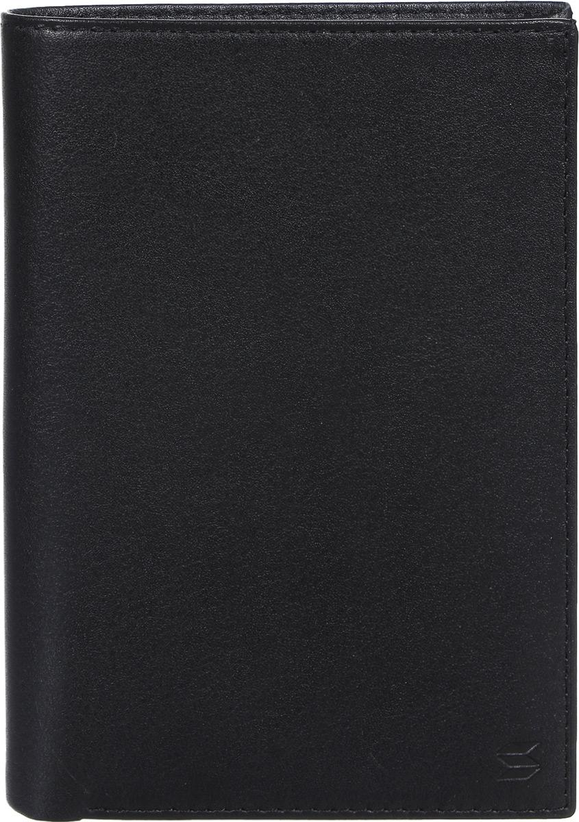 Портмоне мужское Soltan, цвет: черный. 241 01 01S98156Портмоне Soltan выполнено из натуральной кожи. Изделие имеет два отделения для купюр, 8 кармашков для карточек, 4 дополнительных кармана, в два из которых помещается паспорт, и отделение на молнии для мелочи.