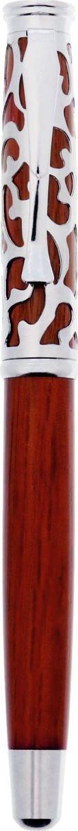 Ручка шариковая Удачи цвет корпуса дерево синяя0703415Ручка деревянная Удачи! в чехле из искуственной кожи - практичный и очень красивый подарок. Он станет незаменимым помощником в делах, а оригинальный дизайн будет радовать своего обладателя и поднимать настроение каждый день. Преимущества: чехол из искусственной кожи с тиснением фольгой деревянная ручка с металлическим колпачком индивидуальный дизайн. Такой аксессуар станет отличным подарком для друга, коллеги или близкого человека.