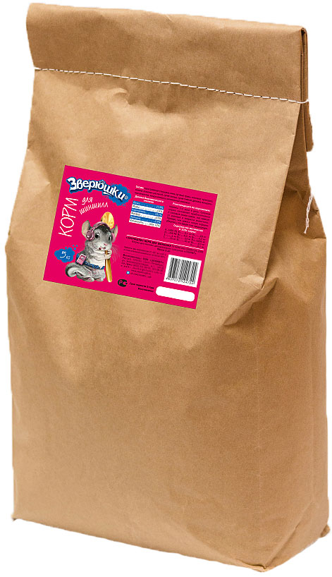 Корм для шиншилл Зверюшки, 5 кг70061834Гранулированный сбалансированный корм для шиншилл на каждый день в экономичной упаковке. Содержит все, что нужно для здоровой и активной жизни пушистого любимца: полезные травы, семена злаковых растений, овощи. Корм обеспечит полноценную, здоровую и активную жизнь любимому питомцу.Состав: мука травяная (люцерна, вика, луговые травы, злаковые культуры), семена злаковых растений, сухие овощи, сухие пивные дрожжи, минеральные вещества, микроэлементы, витаминный комплекс. Товар сертифицирован.