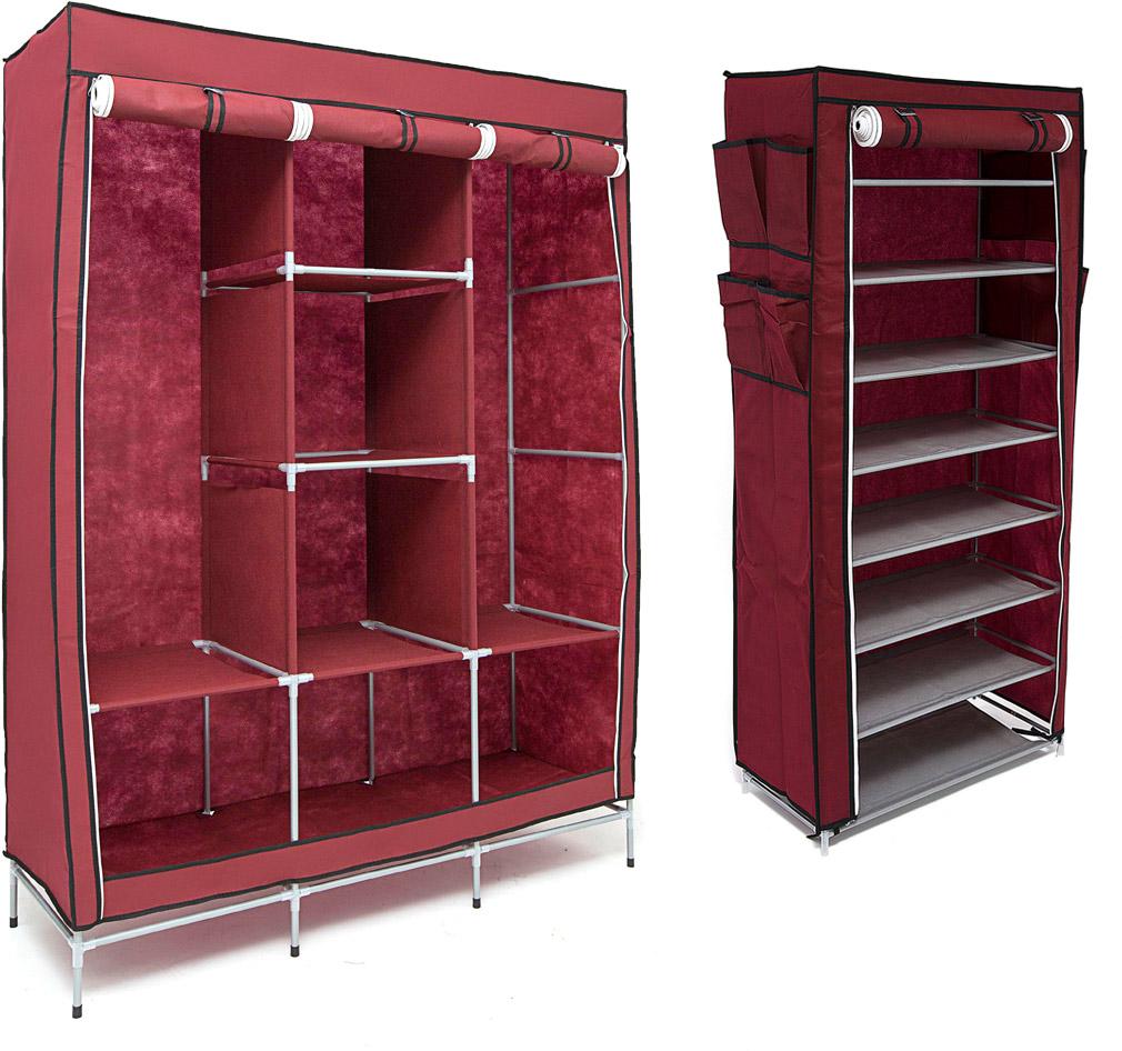 Набор кофров для хранения Homsu Medium, цвет: бордовый, 2 штCLP446Уникальный дизайн этого комплекта станет настоящим украшением для любого интерьера. Практичная составляющая подобной мебели также вне сомнений. Лёгкие и прочные устойчивые конструкции из каркасов и тканевой обивки могут быть легко собраны вами без посторонней помощи, буквально за несколько минут.Такая мебель будет всегда удобной и максимально практичной, ведь верхнюю тканевую часть при надобности можно всегда постирать либо же попросту поменять на аналогичную другого цвета. Кроме того, такие конструкции всегда будут отличным решением для того, кому по душе мобильность и постоянная смена обстановки. 1300х450х1720; 600х300х1360
