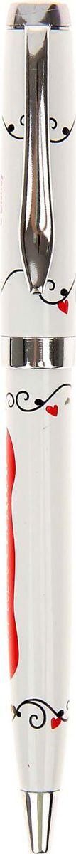 Disney Ручка шариковая Я тебя люблю Микки Маус и друзья синяя2010440Дети любят все яркое и цветное. Письменные принадлежности не исключение. Ручка подарочная Я тебя люблю!, Микки Маус и друзья станет любимой у ребенка. Ее эффектный металлический корпус и необычный дизайн любого вдохновят писать с удовольствием на занятиях в школе и дома. Она будет долго радовать хозяина. Классические герои мультфильмов Disney будут также интересны взрослым, которые любят радовать себя яркими и оригинальными вещами! Побалуйте своего внутреннего ребенка.