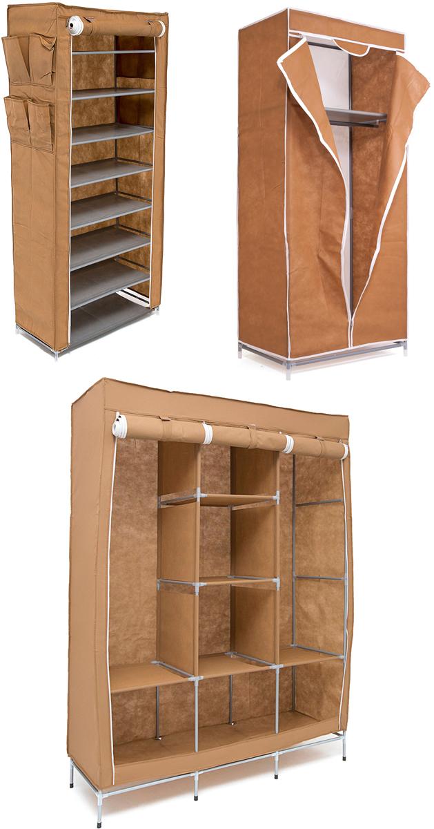Набор кофров для хранения Homsu, универсальный, цвет: коричневый, 3 шт10503Уникальный дизайн этого комплекта станет настоящим украшением для любого интерьера. Практичная составляющая подобной мебели также вне сомнений. Лёгкие и прочные устойчивые конструкции из каркасов и тканевой обивки могут быть легко собраны вами без посторонней помощи, буквально за несколько минут.Такая мебель будет всегда удобной и максимально практичной, ведь верхнюю тканевую часть при надобности можно всегда постирать либо же попросту поменять на аналогичную другого цвета. Кроме того, такие конструкции всегда будут отличным решением для того, кому по душе мобильность и постоянная смена обстановки. 1300х450х1720; 680х450х1550; 600х300х1360