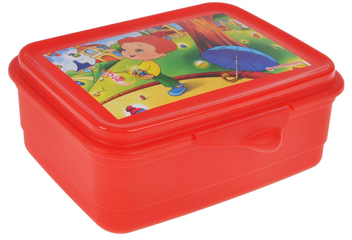 Контейнер для завтрака Полимербыт, цвет: красный, 750 мл94672Контейнер для завтрака Полимербыт, изготовленный из высококачественного пластика, предназначен специально для хранения пищевых продуктов. Контейнер прямоугольной формы. Крышка легко открывается и закрывается. Контейнер может быть использован для разогрева еды в микроволновой печи, устойчив к воздействию масел и жиров, легко моется. Контейнер имеет возможность хранения продуктов глубокой заморозки, обладает высокой прочностью. Изделие необыкновенно удобно: в нем можно брать еду на работу, за город, ребенку в школу. Именно поэтому подобные контейнеры обретают все большую популярность.УВАЖАЕМЫЕ КЛИЕНТЫ!Обращаем ваше внимание на возможные изменения в дизайне товара - рисунок на крышке может отличаться от изображения, представленного на сайте. Поставка осуществляется в зависимости от наличия на складе.