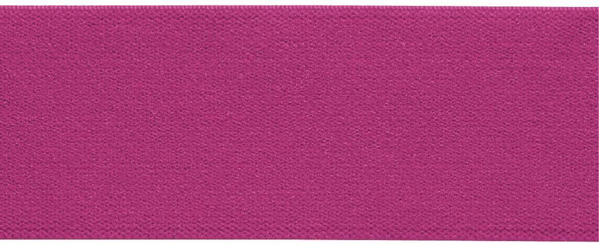 Лента-пояс эластичная Prym, цвет: ярко-розовый, 38 мм, 10 м97775318Для пришивания в качестве пояса