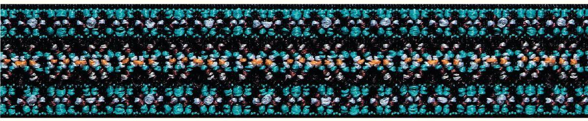 Лента эластичная Prym Color. Узор, 25 мм, 7 мNLED-454-9W-BKДля украшения трикотажных тканей, поясов для брюк и юбок, аксессуаров и т.д.