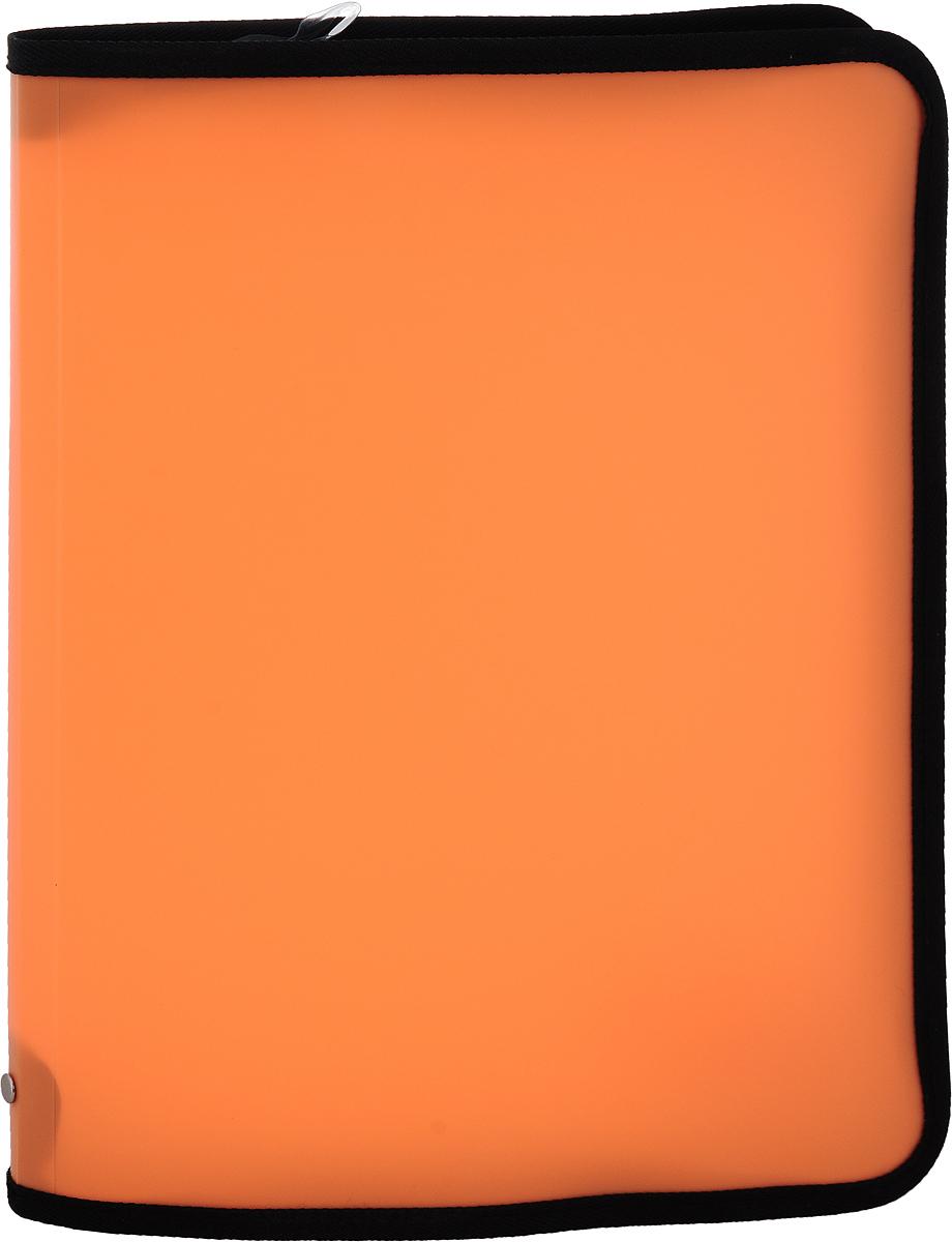 Erich Krause Папка на молнии Neon формат А4 цвет оранжевый31012Папка на молнии Erich Krause Neon предназначена для хранения и транспортировки бумаг или документов формата А4. Папка изготовлена из плотного пластика. Папка состоит из одного отделения, закрывается при помощи круговой молнии и свободно помещается в портфеле, кейсе, багаже.Папка практична в использовании, надежно сохранит ваши документы и сбережет их от повреждений, пыли и влаги.