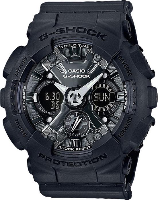 Zakazat.ru: Часы наручные женские Casio G-Shock, цвет: черный, серый. GMA-S120MF-1A