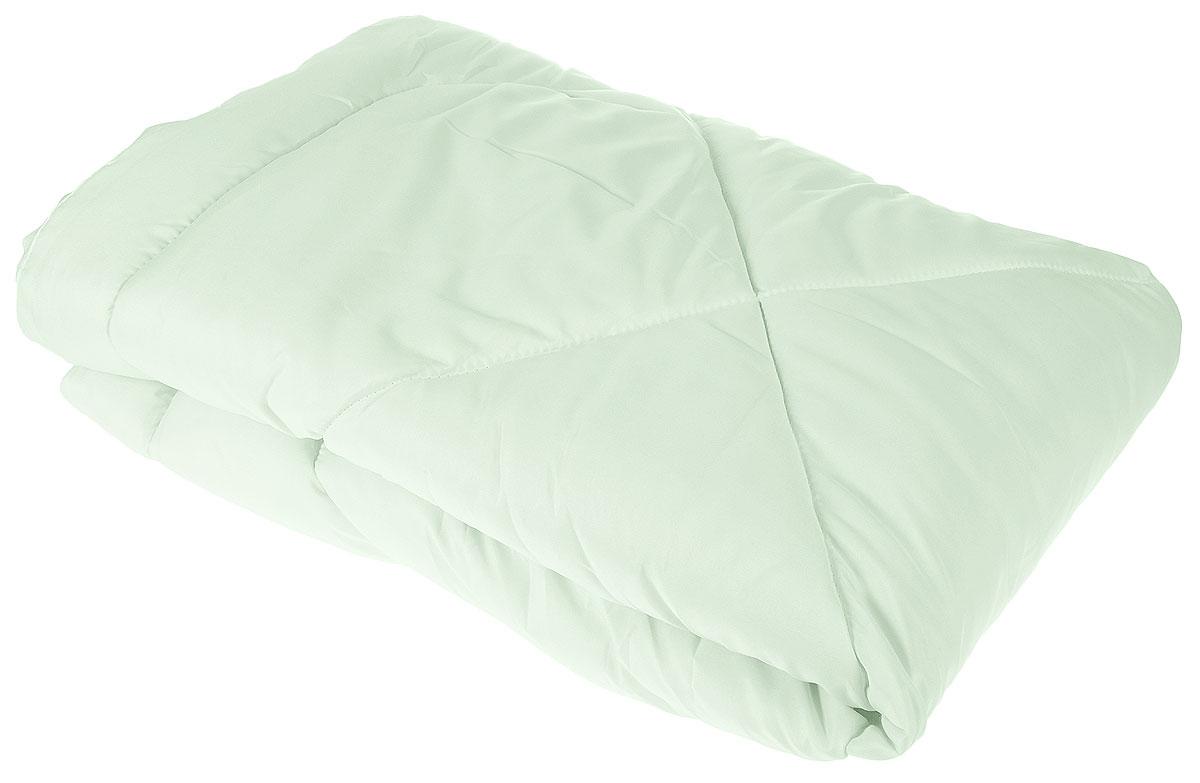 Одеяло Lara Home Алоэ Вера, всесезонное, наполнитель: силиконизированное волокно, цвет: зеленый, 172 х 205 смwlr219045Одеяло Lara Home Алоэ Вера подарит комфорт и уют во время сна. Чехол, выполненный из микрофибры (100% полиэфира), оформлен стежкой и надежно удерживает наполнитель внутри. Наполнитель выполнен из силиконизированного волокна.Особенности одеяла:Гипоаллергенные материалы.Необычайная мягкость и легкость.Обеспечивает хорошую терморегуляцию.Обладает расслабляющим эффектом.Препятствует развитию болезнетворных бактерий.Способствует хорошему отдыху.